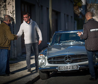 Mercedes Pagode, Mercedes classiques  : Accompagnement Achat