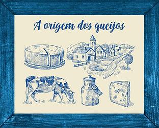 origem dos queijos