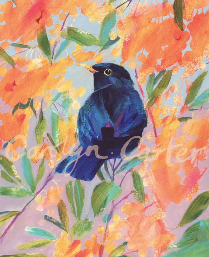 Blackbird by Carolyn Carter