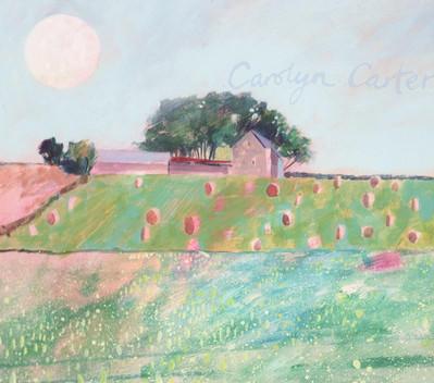 Moonrise Barn