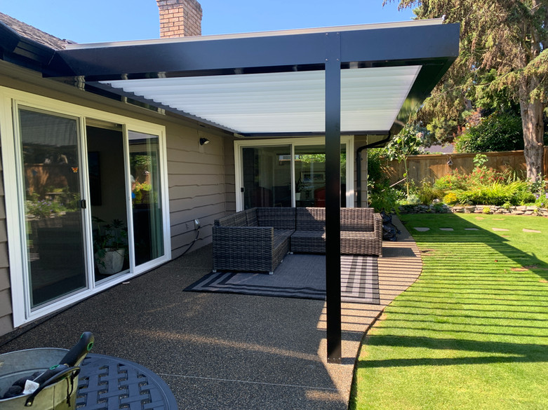 Louvered Roof - Westcoast Patio Covers