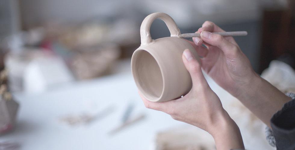 Ma céramique faite main en deux séances - Adulte