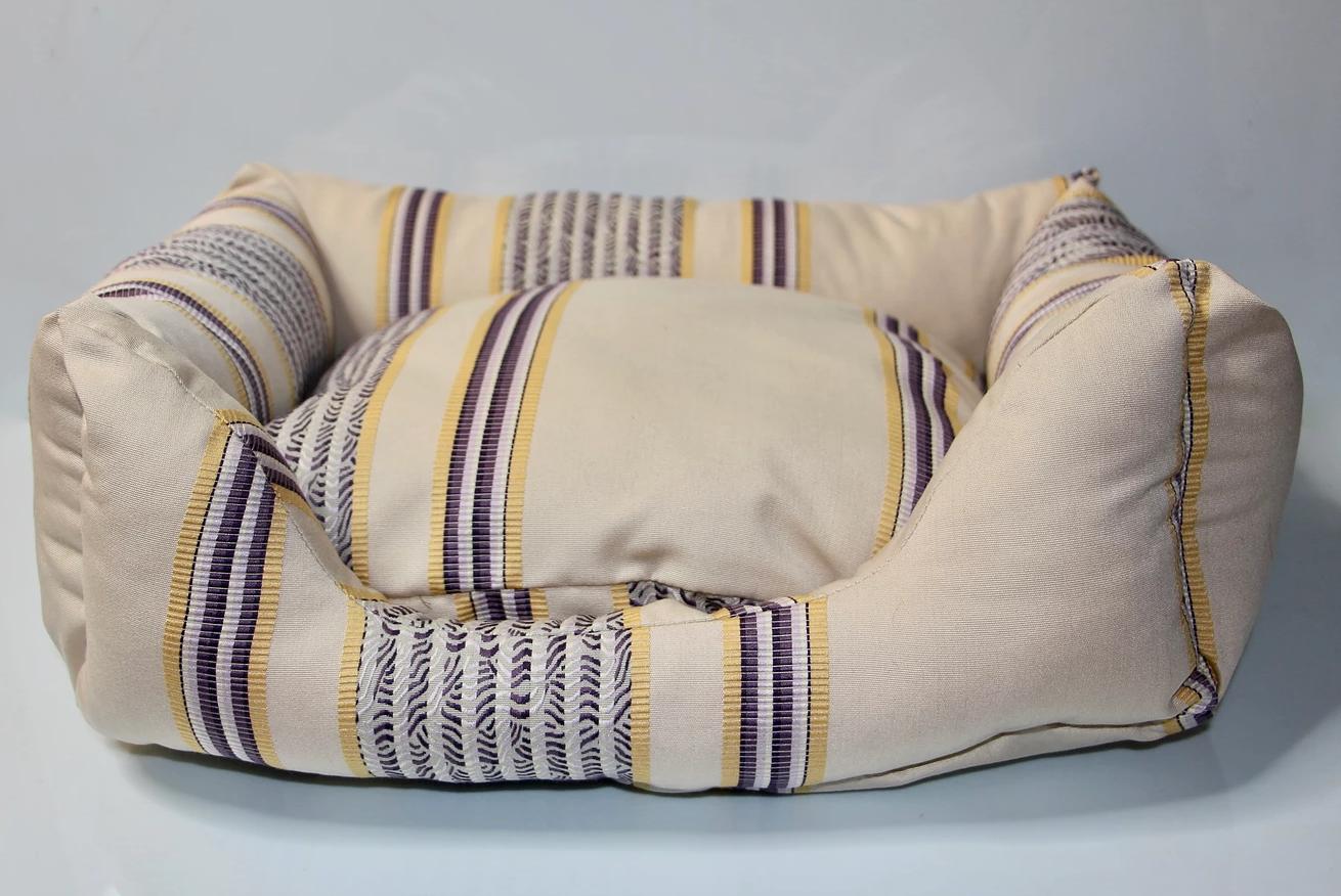 Sofa Istanbul jaune/violet