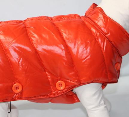 Doudoune orange