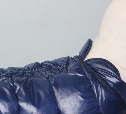 Doudoune bleue