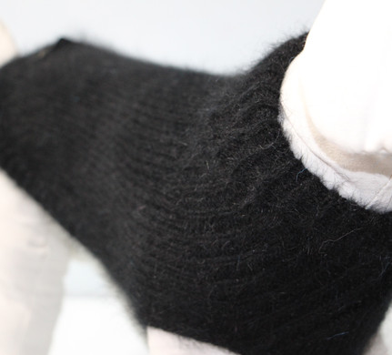 Pull angora noir