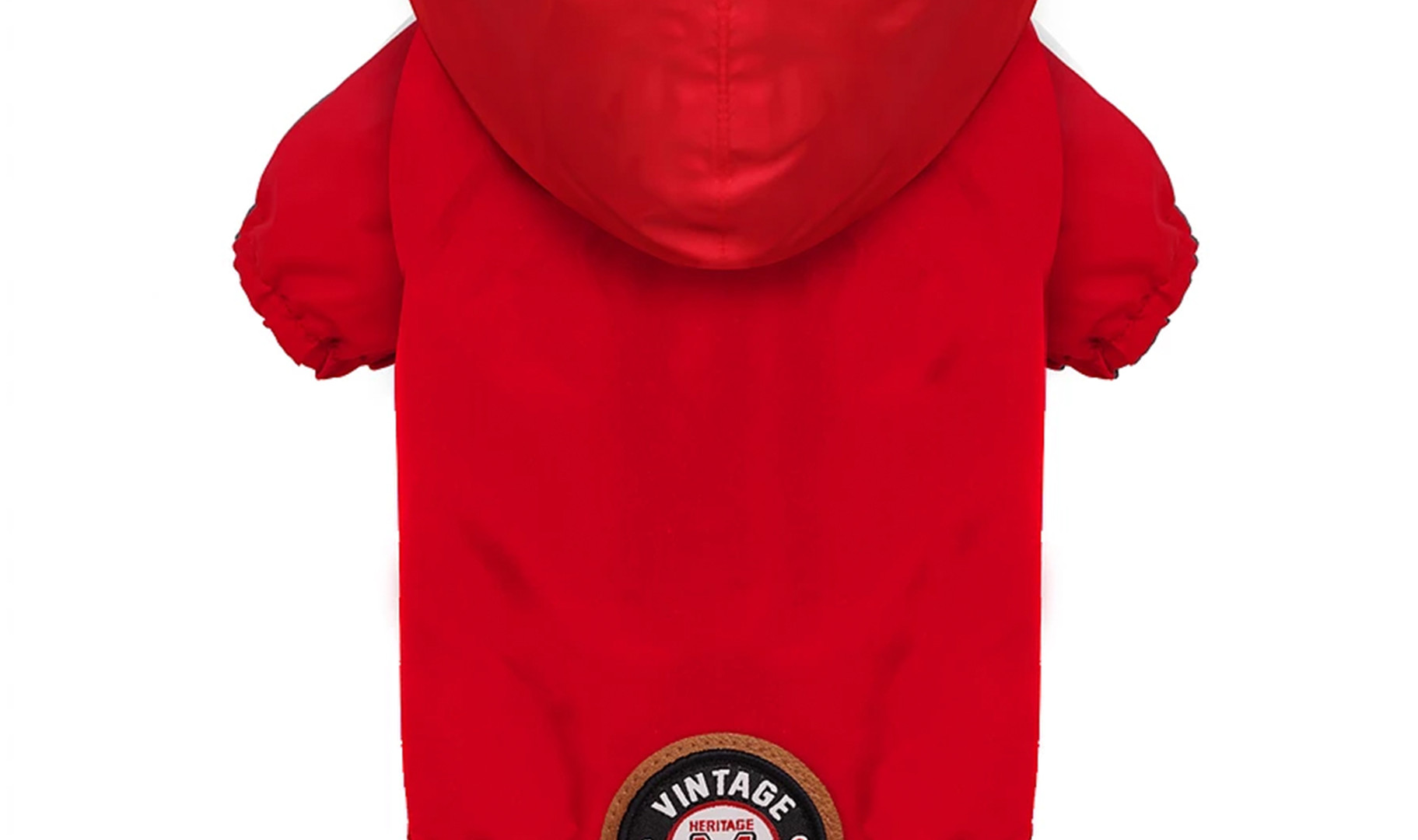 Imperméable Winch rouge