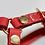 Thumbnail: Harnais sellier rouge