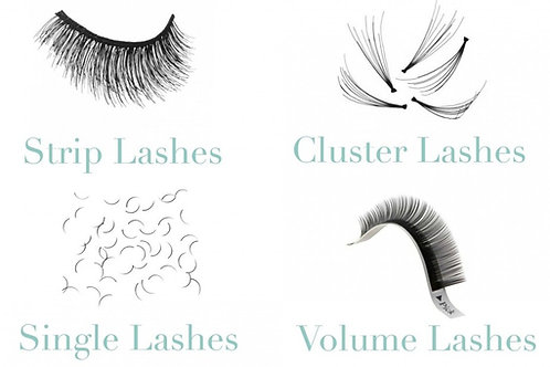 3 Technique Eyelash Extension Course (Classic, Strip, Cluster)