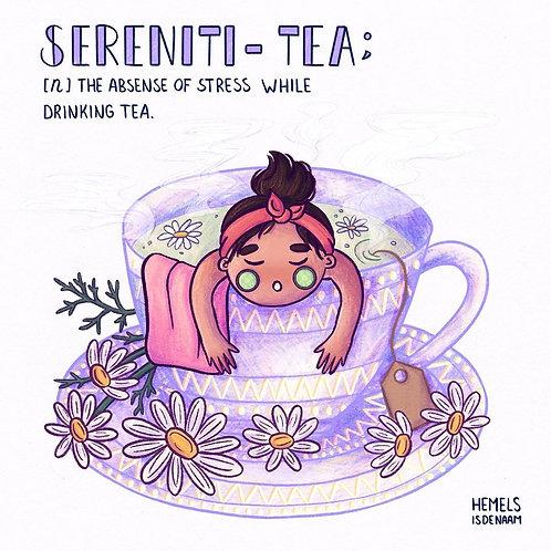 Serenity Tea Print