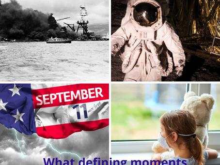 Defining moments shape a generation