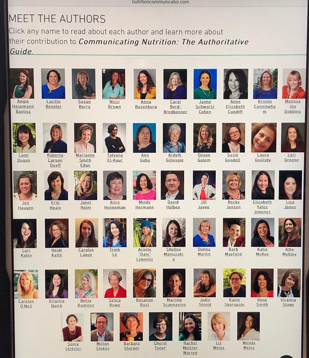 photos of book author team