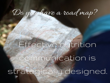 Effective nutrition communication is not an accident