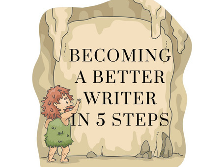 Becoming a better writer in 5 steps