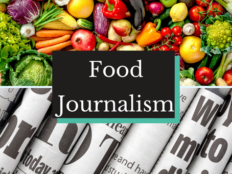 Is Food Journalism for You?
