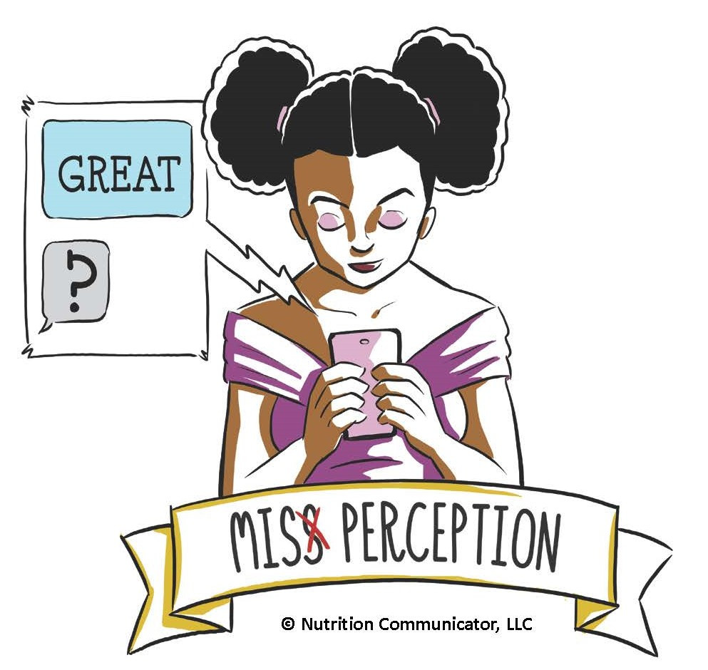 Miss Perception miscommunication character
