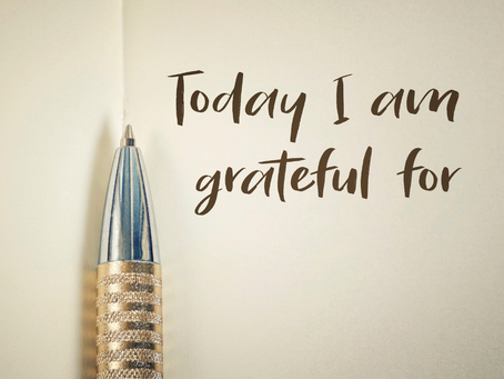 Intentional Gratitude