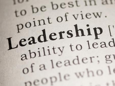 Leadership is…