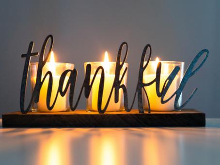 Thankful? Say it. Show it.