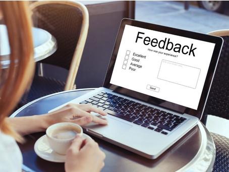 Don't fear feedback – embrace it!