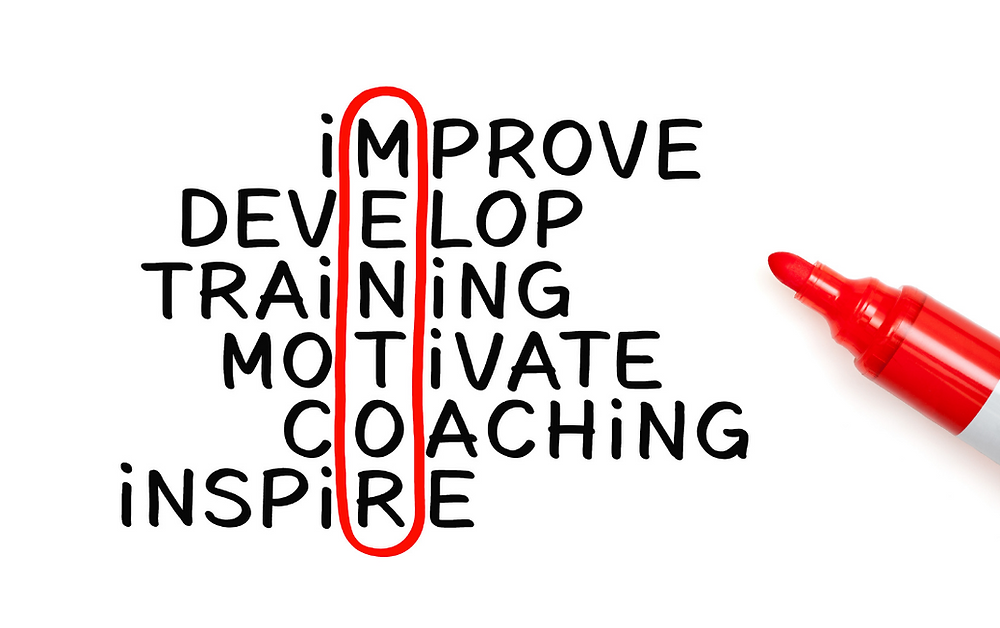 A mentor is one to help you improve, develop, give training, motivate, coach, and inspire.