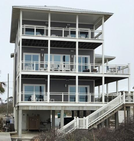 Beach house on Cape San Blas, Florida