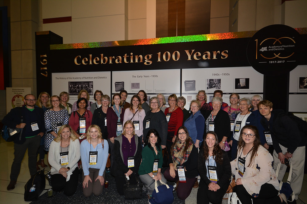 Registered Dietitians from Indiana at annual conference