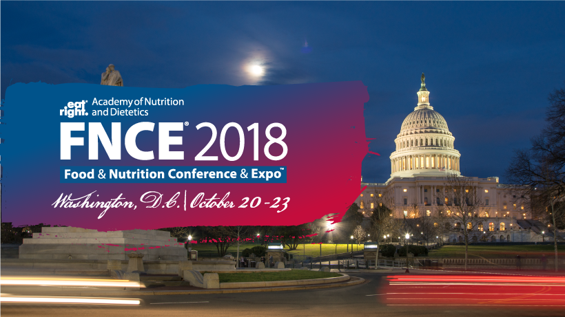 advertisement for FNCE 2018 in Washington DC