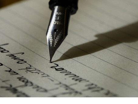 Write to be remembered