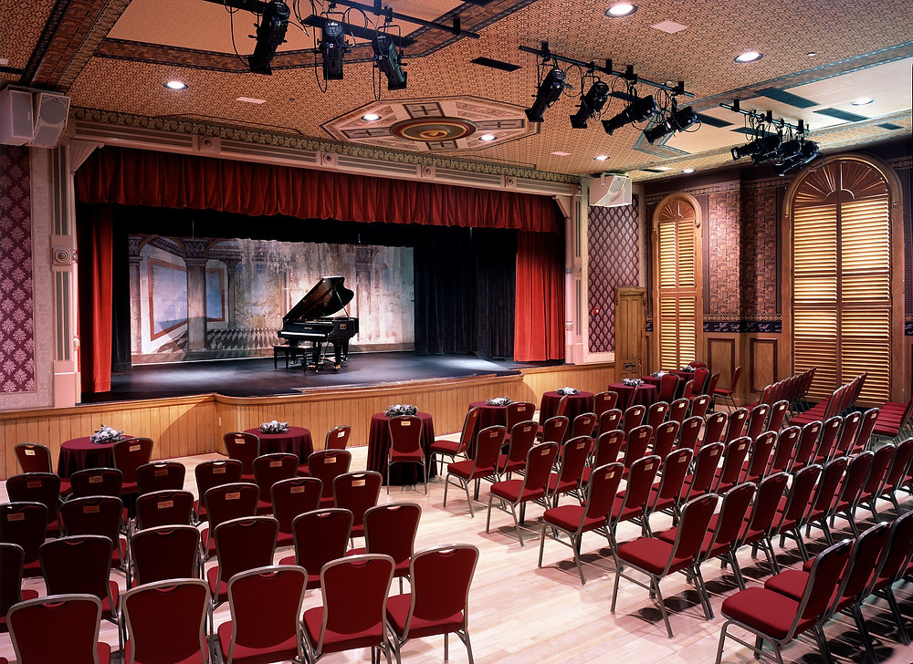 The Delphi Opera House Auditorium