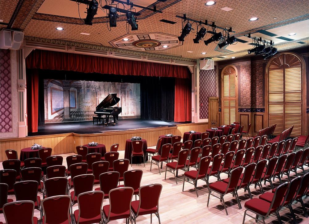 The Delphi Opera House Auditorium