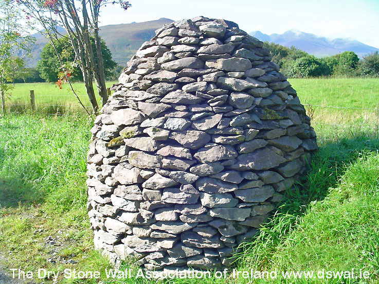 Dry stone Cairn