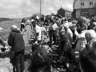 Large Crowd attend Tirconnell Stone festival in Glencolmcille