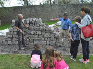 DSWAI demo at Traditional Building Skills Expo at Portumna Castle