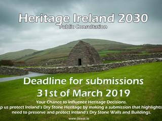 Heritage Ireland Public Consultation 2030