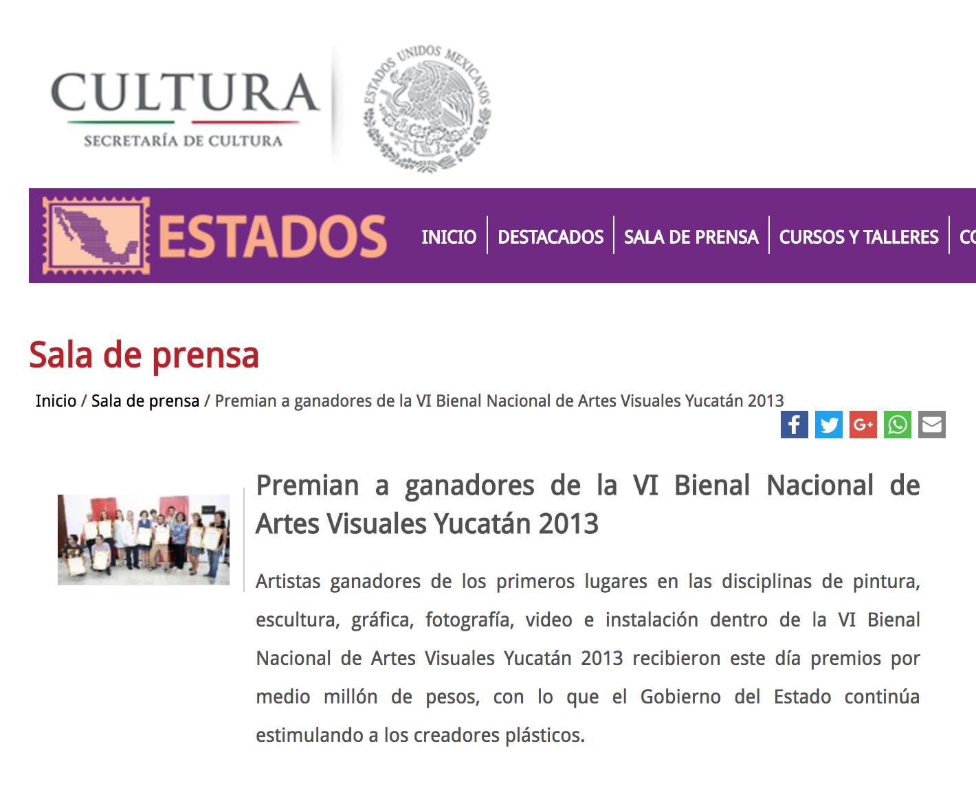 Bienal de Yucatán