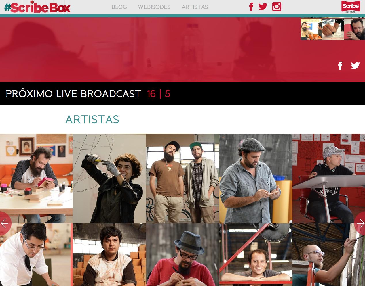 Srcribe box