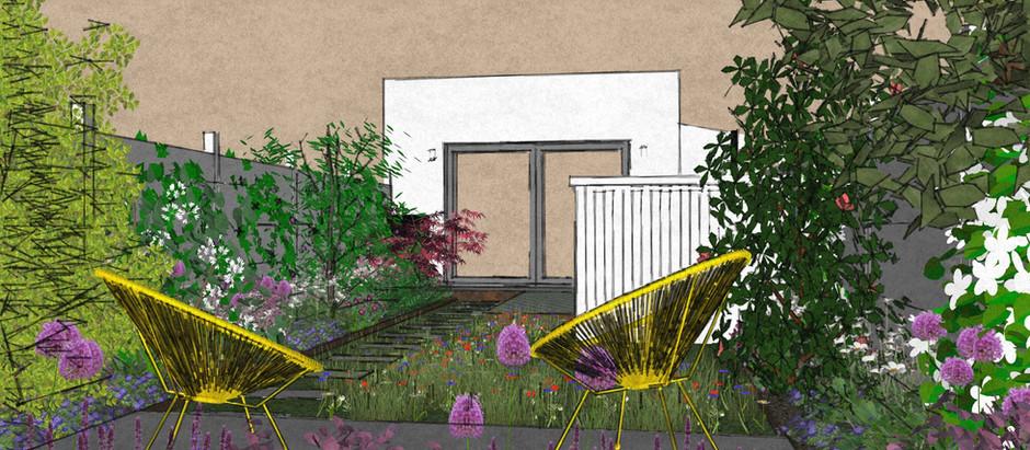 E11 Industrial Style Family Garden