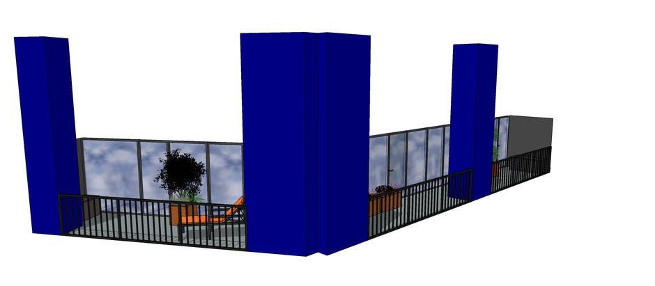 Designing in lockdown - E14 Contemporary Balcony