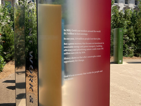 London Design Biennale 2021 - building back better