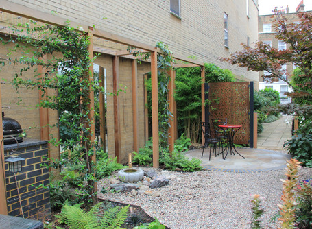 Design tips for an awkwardly shaped garden