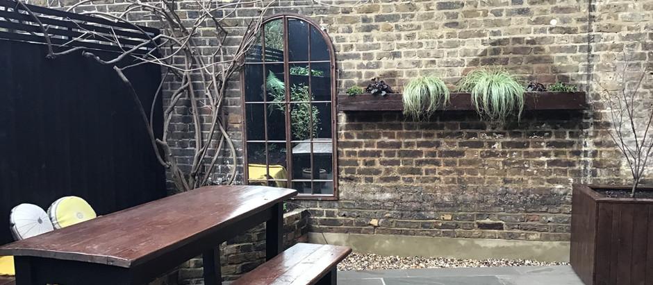 Maximising an awkward space - my E5 Couryard Garden