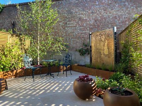 E8 Urban Sanctuary Garden - almost complete