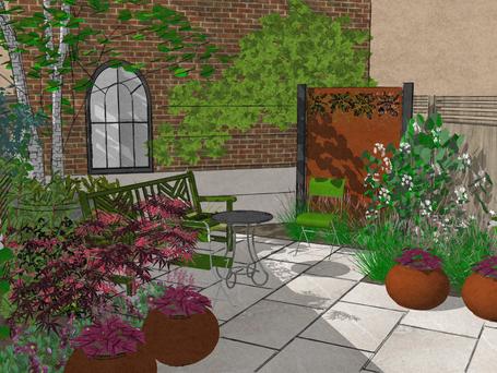 How to create an E8 Urban Sanctuary garden in the city?