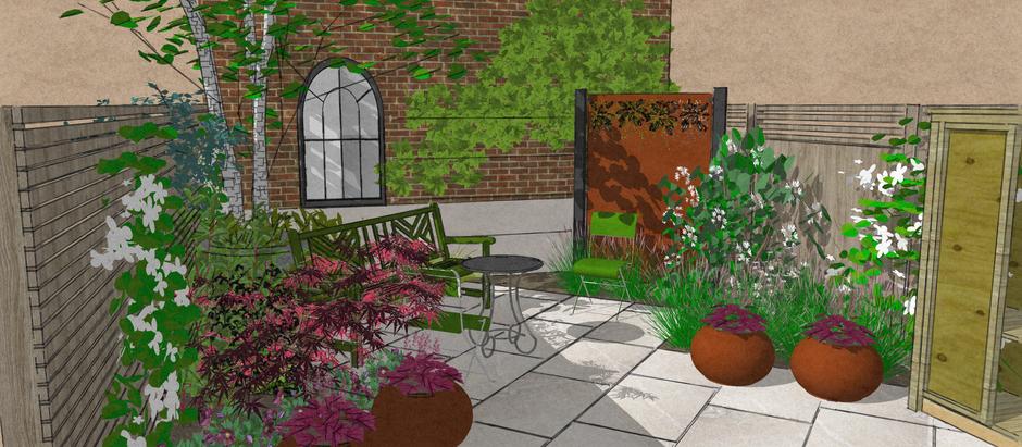 Build Progress - E8 Urban Sanctuary Garden