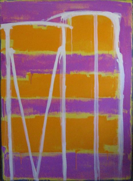 Little Bulli , oil on canvas 183cmx120cm