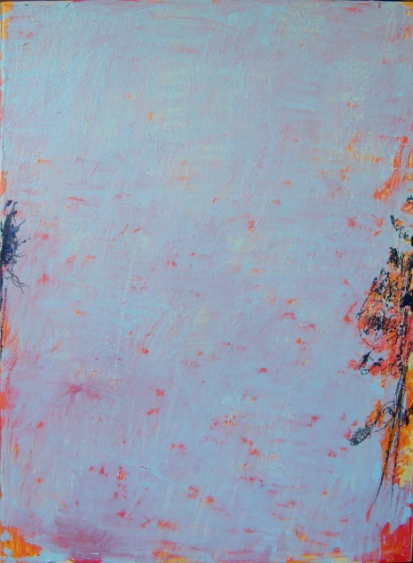 Pine tree IV,  oil on canvas 101cmx76cm
