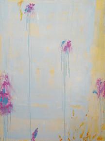 In my garden VII, oil on canvas 122cmx90cm