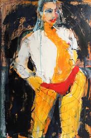 Woman II, oil on canvas , 120cmx80cm