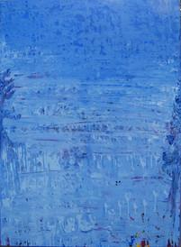 Pine tree V, oil on canvas 120cmx90cm